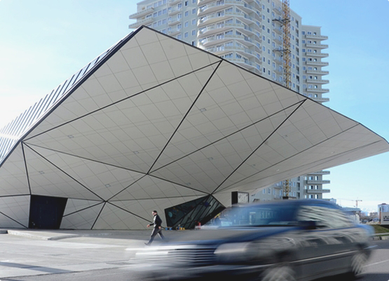 FunderMax - панели для облицовки фасада