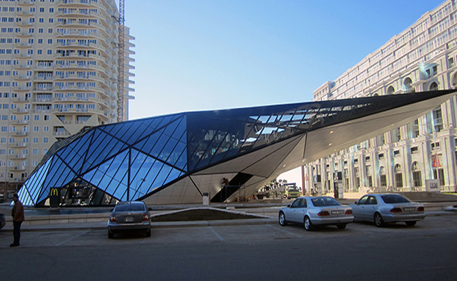 Facade of Batumi MC DONALD'S