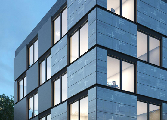 SCALAMID – Facade cladding panels