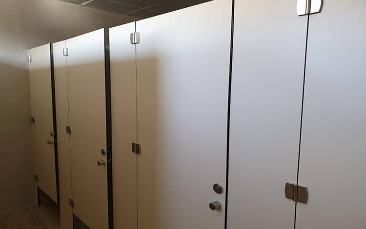 ტუალეტის კაბინის ტიხრები