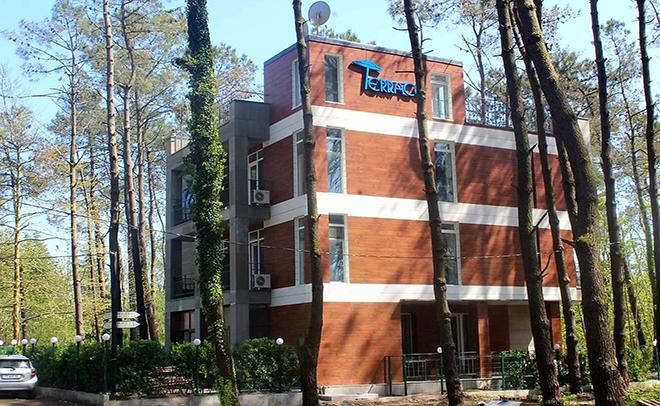 "Hotel ""EF Palace"" in Shekvetili"