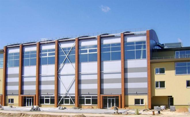 სავაჭრო ცენტრი - ქალაქი მადონა , ლატვია