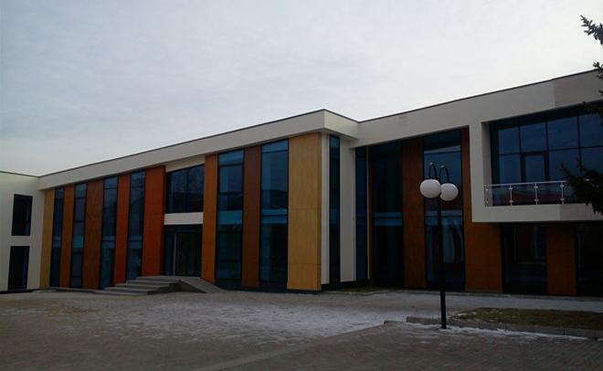 Facade of Akhaltsikhe Library