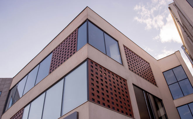 Perforated window sills
