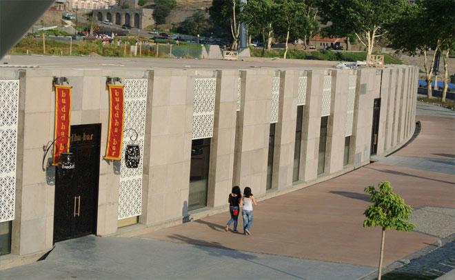 "Facade of the club ""Buddha Bar"""