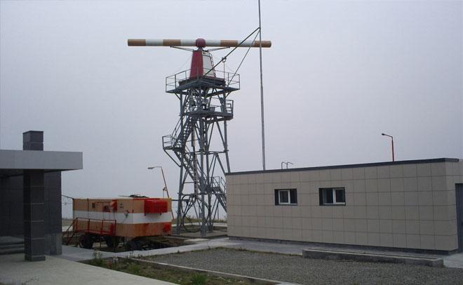 საჰაერო ნავიგაციის ლოკატორის შენობა
