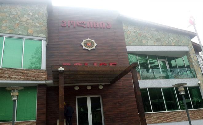 ონის პოლიციის შენობის ფასადი