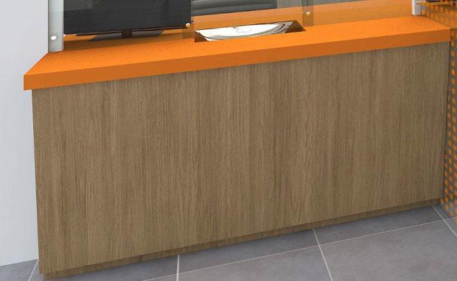 """""""საქართველოს ბანკი""""-ს მეტროს ფილიალების ავეჯი"""